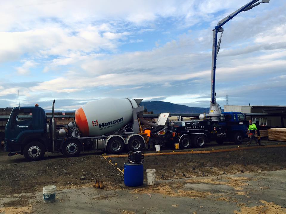 Tasmanian Concrete Pumping - Residential, Commercial and